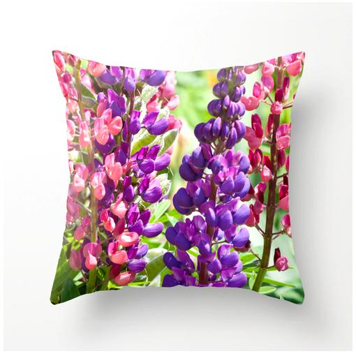 lupine-pillow